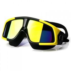 大框多彩电镀泳镜防水防雾游泳眼镜