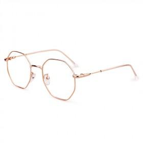 防辐射眼镜女网红款眼镜男韩版潮大圆框抗蓝光平光镜