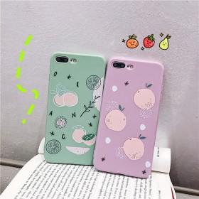 苹果XR手机壳8plus抹茶绿7简约夏天R15x软