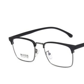 免费配1.61防蓝光近视镜 经典眉线框 TR90