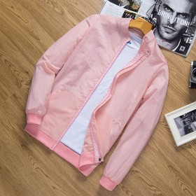 男防晒衣韩版皮肤衣薄空调衫外套薄款时尚上衣
