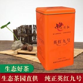 英德红茶英红九号雨前红广东浓香耐泡生态茶叶条红茶
