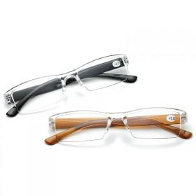 高清树脂眼镜男女时尚简约便携舒适老人眼镜老花镜
