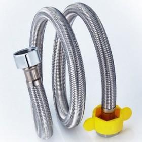 不锈钢金属编织冷热进水软管居家备用