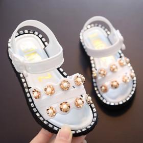 女童凉鞋女宝宝凉鞋可爱时尚1-8岁可穿