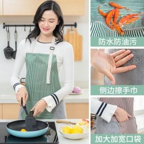 日式擦手厨房围裙抖音同款