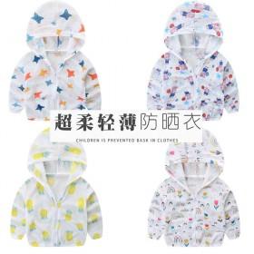 中儿童超薄透气防晒衣男女童夏婴儿宝宝沙滩皮肤衣韩版