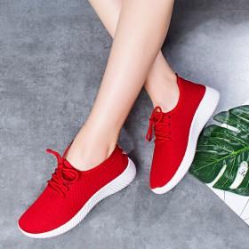 新款网鞋老北京网布鞋 女鞋休闲透气运动单鞋