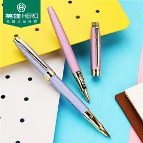 英雄牌钢笔学生用可换墨囊带礼盒