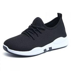 小红鞋春夏女鞋运动鞋慢跑步鞋女单鞋休闲鞋懒人老北京