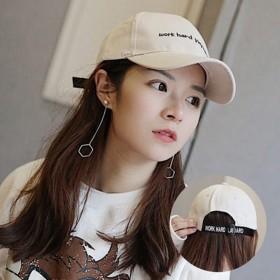 帽子女夏天鸭舌帽女韩版学生百搭帽子户外时尚遮阳帽