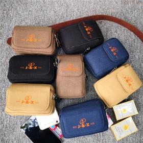 工地干活手机腰包5.5多功能穿皮带手机挂腰包横款竖