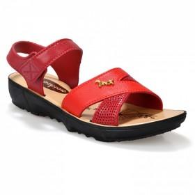 新款夏季妈妈凉鞋软底软沙滩中老年松糕厚底平底女鞋防