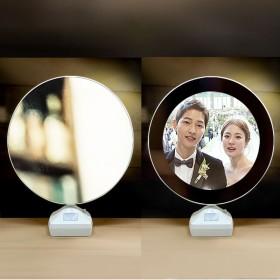 抖音同款镜子相框发光灯【可定制照片】发图给客服