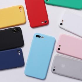 苹果手机壳iPhone磨砂华为小米