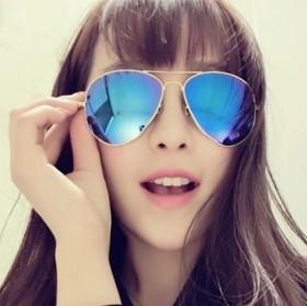 太阳镜女潮2017彩膜时尚太阳眼镜男士韩版个性墨镜