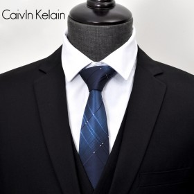 CK领带男正装商务