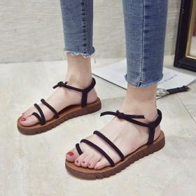 超级柔软鞋底凉鞋 夏季新款时尚仙女鞋子