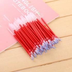 加粗款0.5mm子弹头中性笔通用替芯笔芯100支