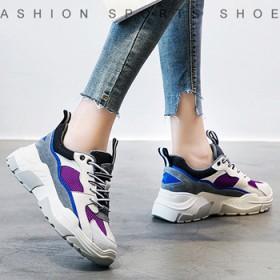 运动鞋女真皮跑步鞋