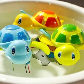 儿童玩具戏水酷游小乌龟宝宝发条会游泳小乌龟男孩女孩