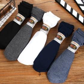 10双装 袜子男 男士袜子夏季 丝袜男夏季薄款中筒