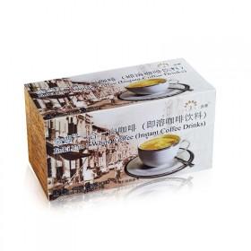马来西亚进口咖啡金豊原装二合一无糖速溶白咖啡16袋