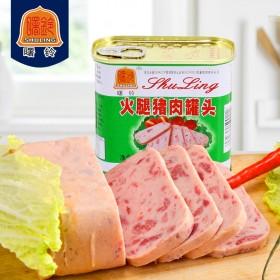 【拼多多】曙铃火腿午餐肉340g大罐装
