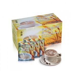 马来西亚进口巧克力味混合麦片金豊谷物营养早餐麦片4