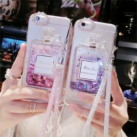 苹果香水瓶日韩iPhone8女款XS Max卡通苹
