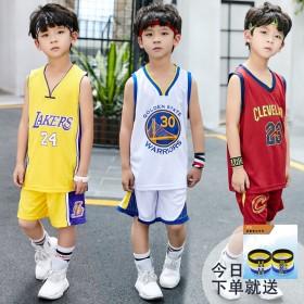 儿童篮球服夏装2019新款无袖背心中大童学生球服