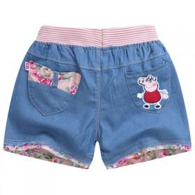 儿童牛仔短裤夏季装男童短裤宝宝外穿女童牛仔短裤小孩