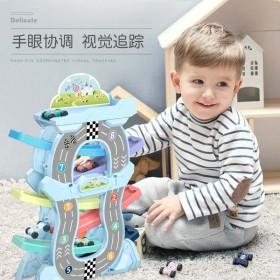 滑翔车玩具儿童益智轨道小汽车男孩回力惯性女宝宝玩具