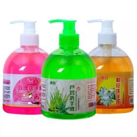 芦荟植物洗手液500玫瑰保湿洗手液桂花滋润儿童