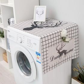 北欧通用海尔全自动滚筒洗衣机罩防水防晒防尘冰箱微波