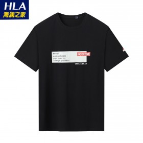 海澜之家品牌剪标休闲短袖T恤上衣