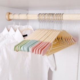 10个装无痕衣架女多功能防滑衣服晾衣架家用衣架