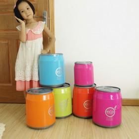 一个可爱的垃圾桶可乐垃圾桶创意礼品家居用品收纳桶