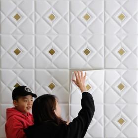 30厘米自粘软包墙贴一张