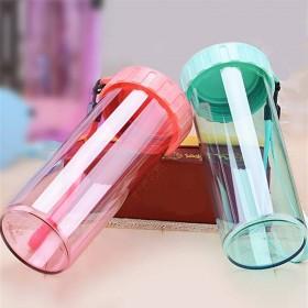 防摔塑料杯子女学生韩版水杯男生茶杯可爱随手杯少女心