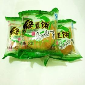 广西特产南铁绿豆饼独立袋装