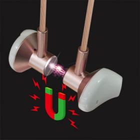 音雄汇X12磁吸金属半入耳式耳机舒适不耳痛左右声游