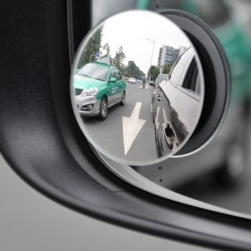 汽车后视镜小圆镜小车360度倒车盲区多功能盲点辅助