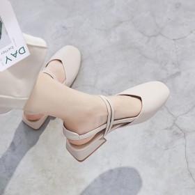 仙女风女潮包头凉鞋女