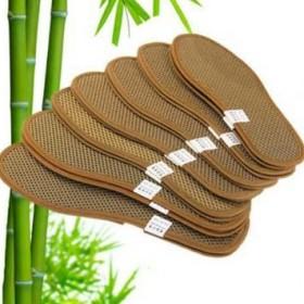 竹炭亚麻鞋垫运动鞋垫薄荷鞋垫男女除臭吸汗透气