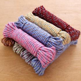 5条 户外加粗晾衣绳多功能防滑晒被绳