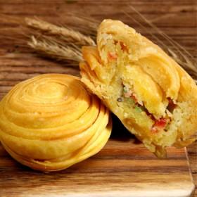 寿县特产历史名点春申府大救驾传统美食糕点52g3盒