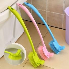 双面加厚长柄去死角马桶刷厕所刷子卫生间清洁刷缝隙刷