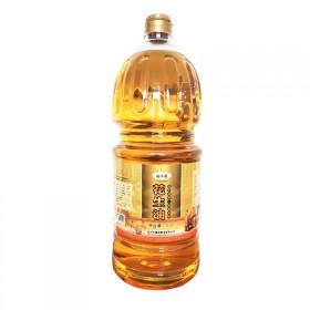 新品峪子香莒南食用压榨油 农家一级纯花生油2.5L