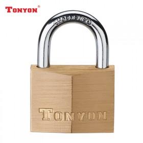 通用(TONYON)纯铜挂锁防盗锁防水防锈锁头